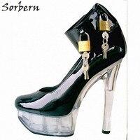 Sorbern/прозрачные пластиковые туфли лодочки на каблуке дизайнерские бренды люксовые женские туфли Туфли на каблуке «рюмочка»; Размер 8; весен