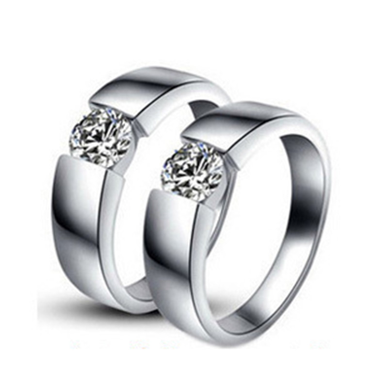 Online Buy Wholesale plain white gold wedding rings from China