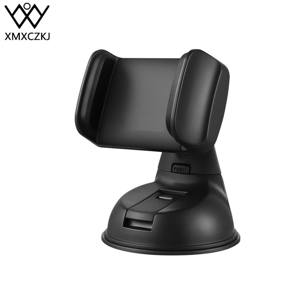 XMXCZKJ Universal360 Rotating Mobile Phone Stand Windshield Desk Mount Car Phone Holder For IPhone  Smartphone Support Cellular