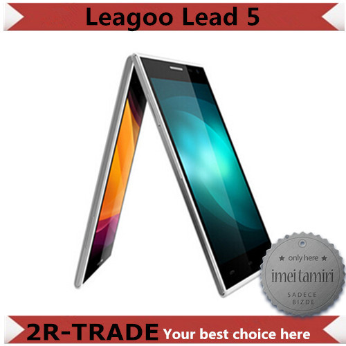 Original Leagoo Lead 5 MTK6582 Quad Core WCDMA 3G Cell Phones inch QHD Android 4.4 1GB RAM 8GB ROM 8MP Camera 2800mAh OGS Phone - 2R-TRADE store