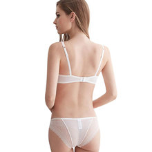 CINOON france Women Underwear Sexy Lace bra set  Push up bra and panty brassiere lingerie set sexy slim skinny lingerie Bedding