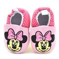 Baby Girl boy Cute Cartoon Minnie mouse Shoes Newborn Unisex Casual Prewalker Footwear Soft Bottom Anti-slip Bebe Shoes GYH