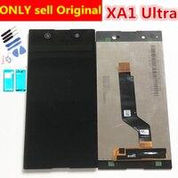 Full Original LCD For Sony Xperia XA1 Ultra G3221 G3212 G3223 G3226 C7 LCD Display Touch Screen Digitizer For Sony XA1 Ultra LCD