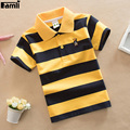 Famli 4Y-16Y Teenager T shirt Children Boy Summer Casual Striped Cotton Short Sleeve T-shirt Tops 8 10 12 14 16 Kids T shirt Tee