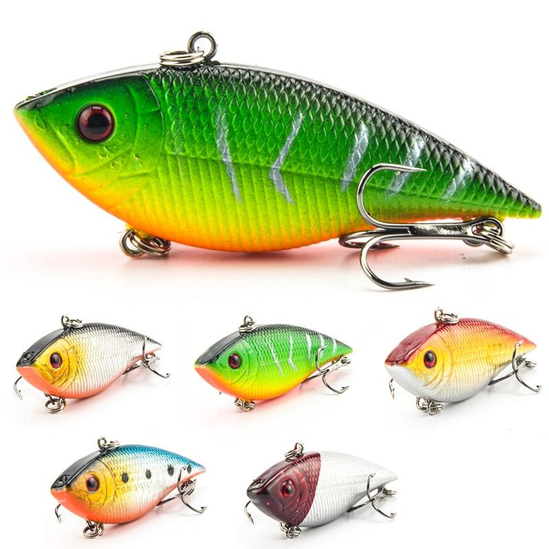 SEALURER 5PCS Ψάρεμα Ψάρεμα VIB Lure 7cm 10.5g - Αλιεία