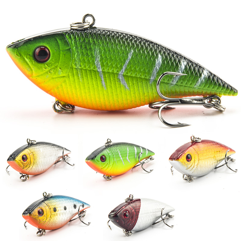 SEALURER 5PCS Horgászat Sinking VIB Lure 7cm 10.5g Wobbler - Halászat