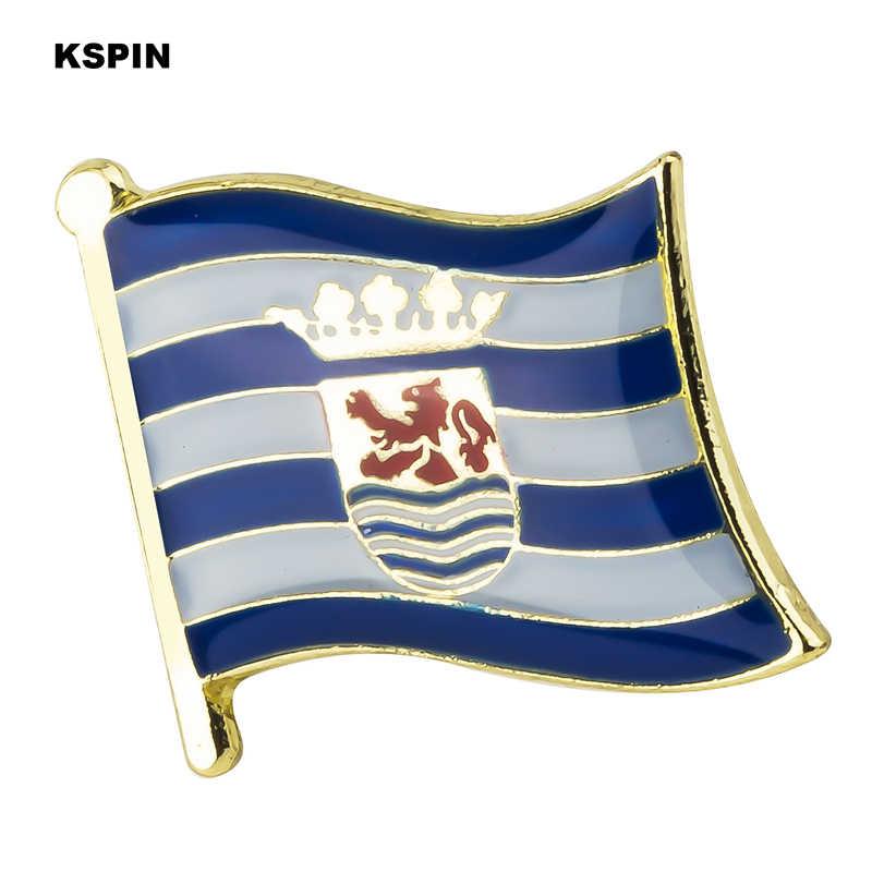 Zeeland флаг булавки значок с флагом страны брошь в виде флага Национальный