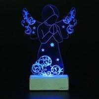 Giftgarden De Noël Ornements Prier Ange LED Lumière Décoration De La Maison Ange de Prière De Noël Décorations Pour La Maison