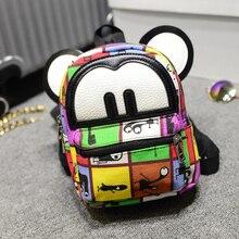 2017 Women Cat Bag Girls Travel Fashion School Teenage bag Cartoon BAG child school bag