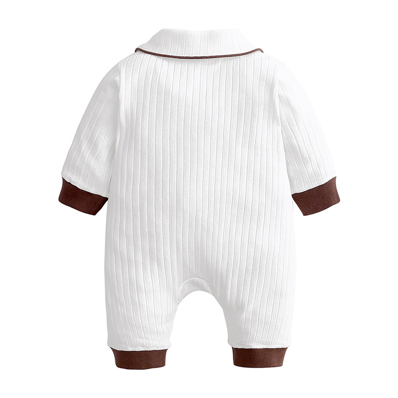 2019 Autumn Winter Newborn Baby Clothes Unisex Christmas Clothes Boys Rompers Kids Costume For Girl Infant Jumpsuit 3 9 12 Month