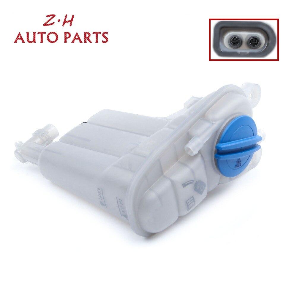 Nouveau plastique moteur radiateur liquide de refroidissement vase d'expansion réservoir bouchon + radiateur bouchon 8K0 121 403 T pour Audi A4 S4 A5 S5 Q5 3B0121321