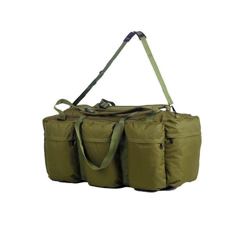 Sac à bandoulière d'alpinisme de grande capacité de 90L randonnée sac à bagages mobile imperméable voyage Camping sac à dos équipement de plein air