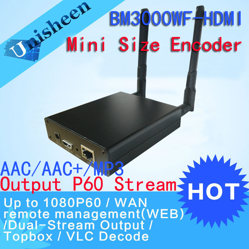 H.264 wifi HDMI Video Encoder streaming encoder HDMI Transmitter live Broadcast encoder wireless H264 iptv encoder