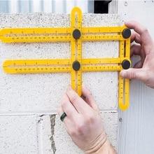 Measuring Instrument Angle izer Template Tool Four Sided Ruler Mechanism Slide
