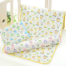 Baby Eco Cotton Insulation Pad Waterproof and Breathable Washable Diaper Changing Mat  Care Products