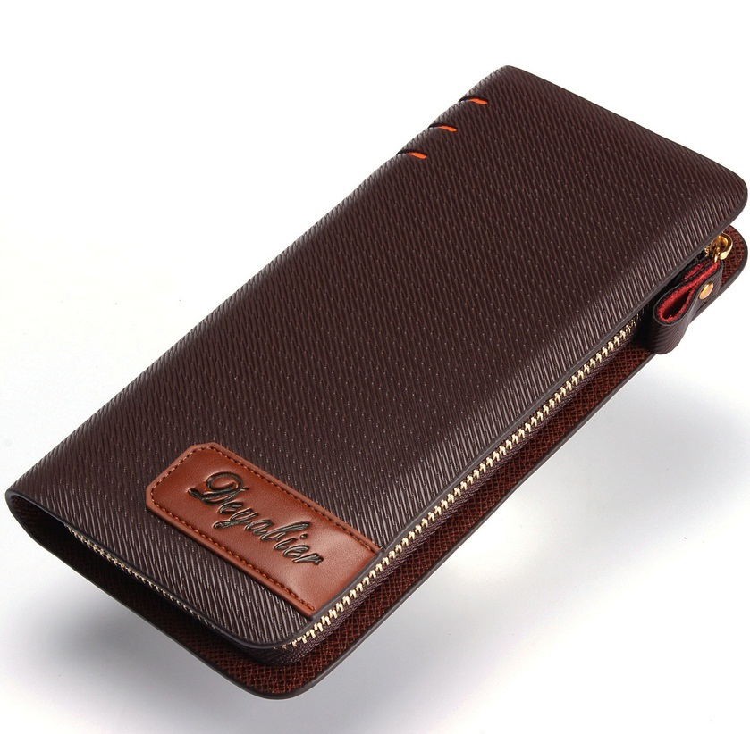 Wholesale Cowhide New Design Fashion Pu Leather Wallet