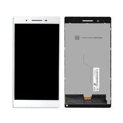 """7 """"dla Lenovo Tab 4 TB 7504X LCD Tab 4 TB 7504N TB 7504x wyświetlacz LCD montaż digitizera ekranu dotykowego darmowe narzędzia w Ekrany LCD i panele do tabletów od Komputer i biuro na"""