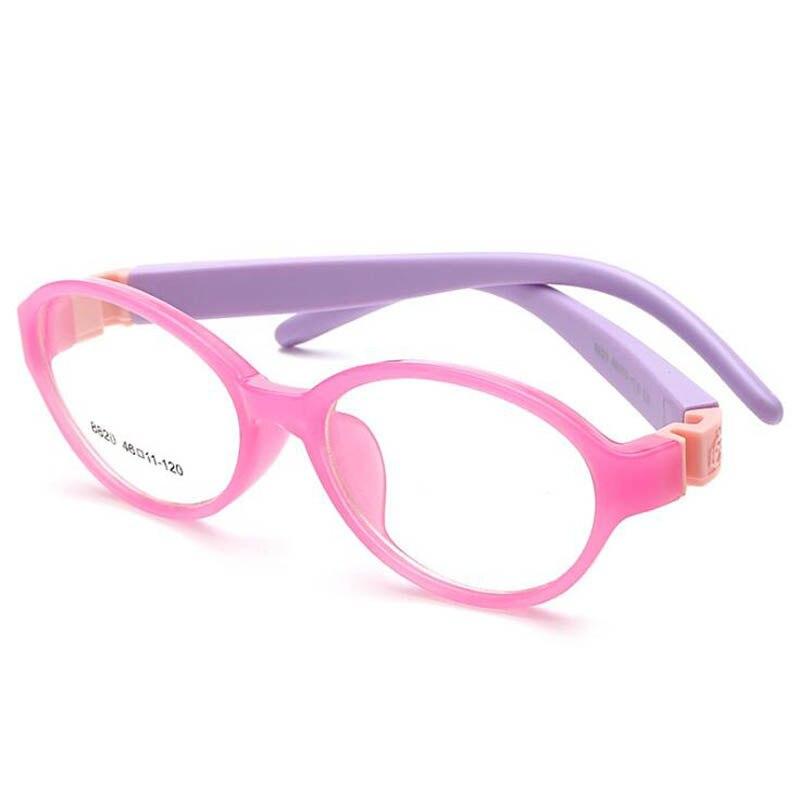 Mode Stijl Kinderen Brillen Voor Kids Afneembare Rubber Been Frames Bril Optische Brillen Voor Kinderen Geen Schroef Veilig Tr Food Grade Lense