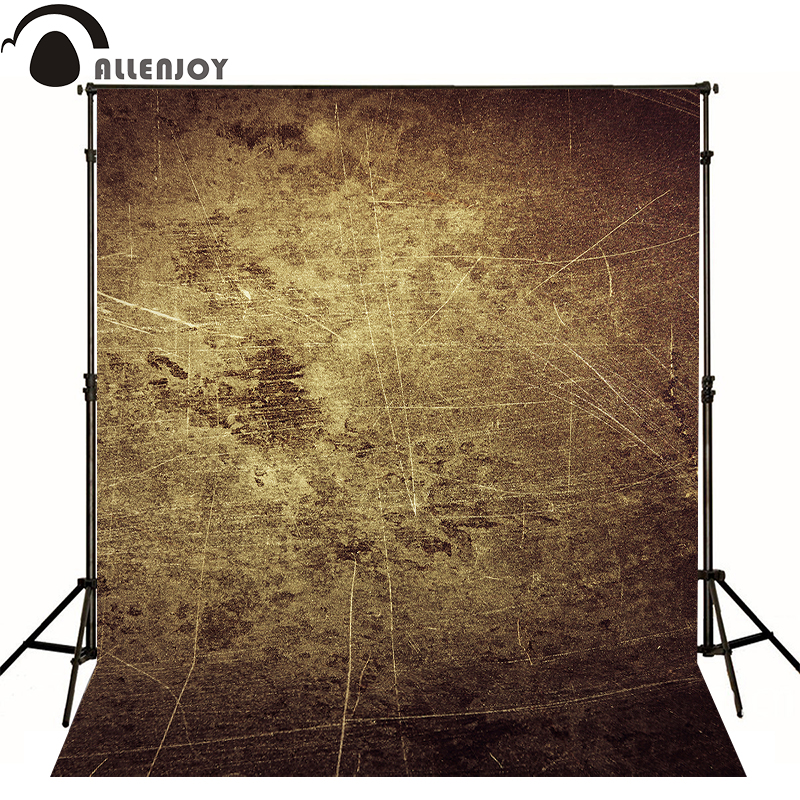 Allenjoy photographic background Simple brown wall damage kids vinyl send folded photo studio photography backdrops