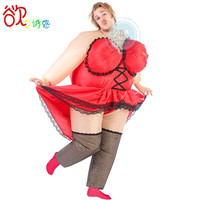 Halloween Costumes for Women Inflatable Funny Lady Barmaid Sexy Waitress NightClub Party Holiday Dress Inflatable Costume