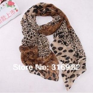 leopard skin scarf , Leopard Scarf, 100% raw leopard skin Warm Scarf