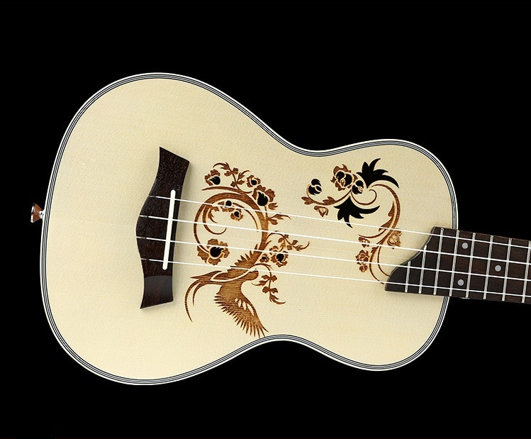 Ukulele Solid Wood Ukelele Strings 23 Inch Spruce Beginner Guitars Children's Musical Instruments Professional Guitar Concert hanknn 23 inch ukulele acoustic guitar concert ukulele professional stringed musical instruments handcraft ukelele for beginner
