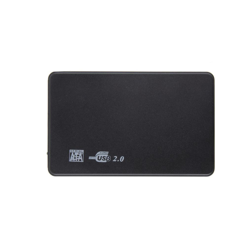 High Speed 2.5 Inch HDD External Enclosure Case for Hard Drive Disk USB 2.0 SATA External Hard Drive Enclosure with USB Cable 2 5 ide usb 2 0 external hard drive enclosure case black
