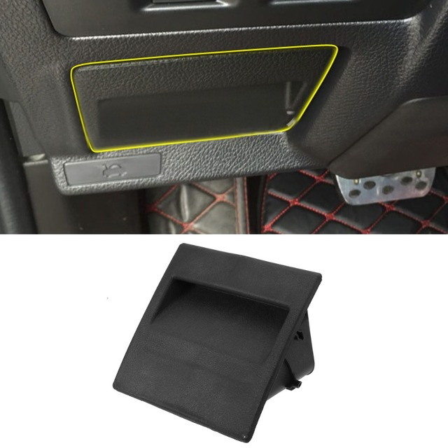 LHD Car Fuse Box Armrest Storage Box Coin Cards Box Tray Holder for