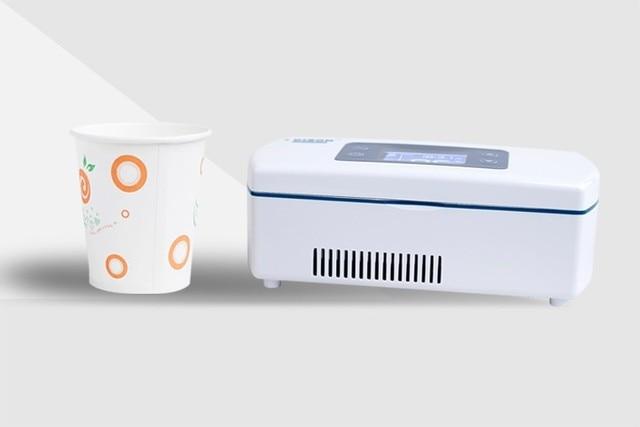 Mini Kühlschrank Auto : Tragbare auto kühlschrank gefrierschrank mini kühlbox in tragbare