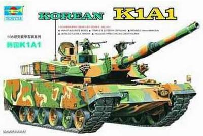 Trumpeter 1/35 00331 KOREAN K1A1 Tank Model Kit