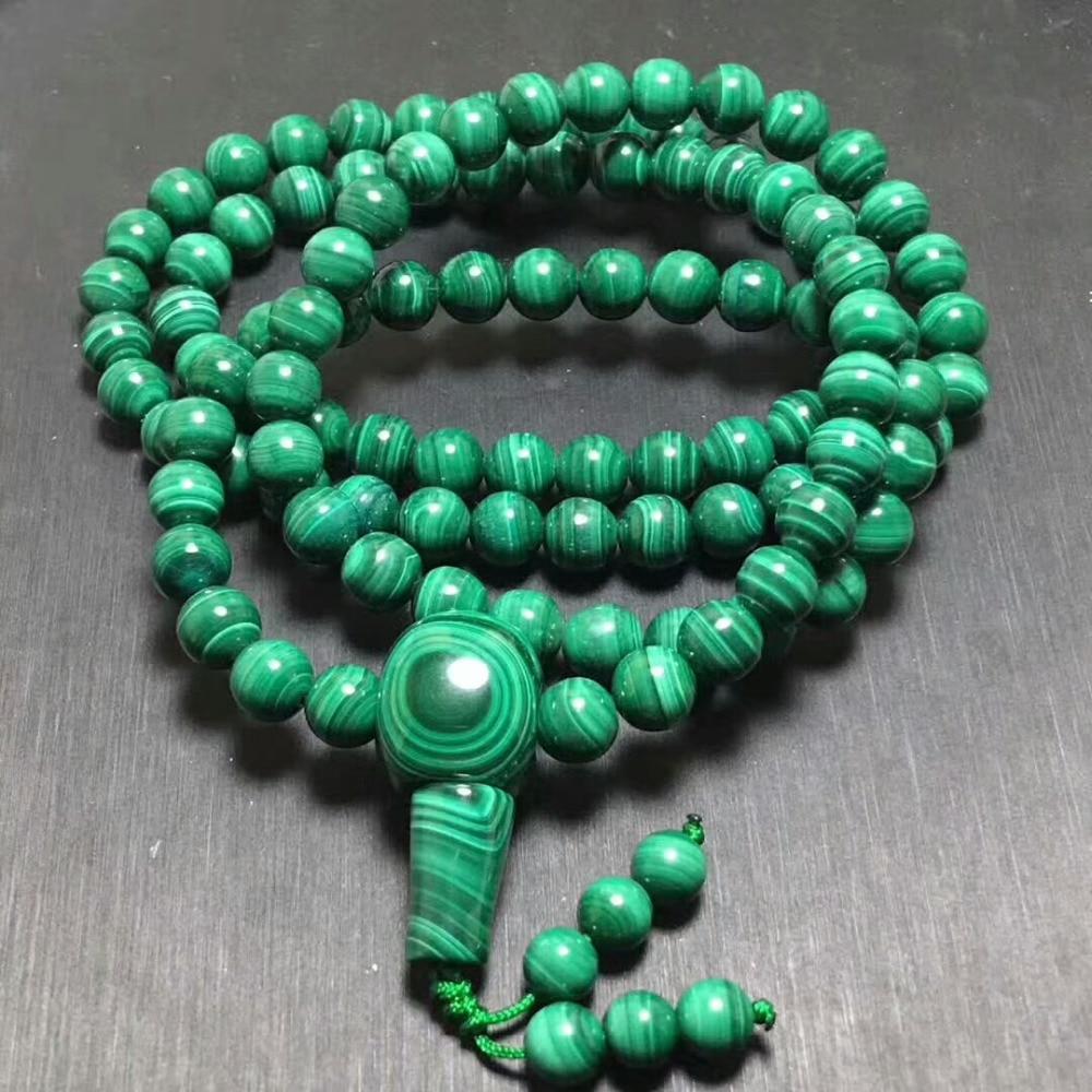 7mm Natural Green Malachite Chrysocolla Stretch Gemstone Round 108 Prayer Beads Bracelet necklace AAAAAA7mm Natural Green Malachite Chrysocolla Stretch Gemstone Round 108 Prayer Beads Bracelet necklace AAAAAA