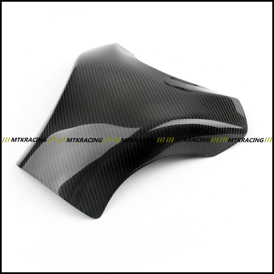 Free shipping Carbon Fiber Fuel Gas Tank Protector Pad Shield For KAWASAKI ZX-10R ZX10R 2008-2010 2008 2009 2010 black color motorcycle accessories carbon fiber fuel gas tank protector pad shield rear carbon fiber for kawasaki z1000 03 06