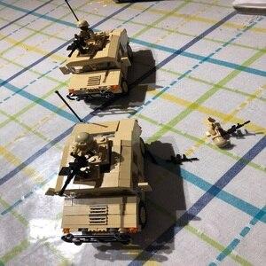 Image 4 - Décool 2111 2112 guerre M1025 Cargo voiture Hummer soldats américains jouets blocs de construction pour legos guerres militaires ensemble pour figurine LPS