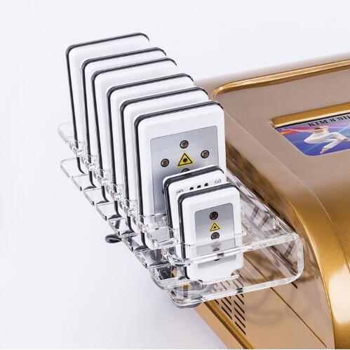 40 k RF pielęgnacji skóry Salon wyposażenie spa liposukcja ultradźwiękowa kawitacja 8 klocki lipo Laser odchudzanie maszyna do prasowania próżniowego
