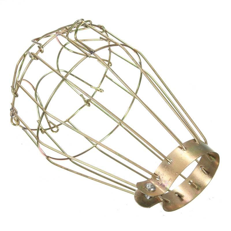 Hot Sale Iron Reptile Heat Lamp Shade Cover Anti Scald ...