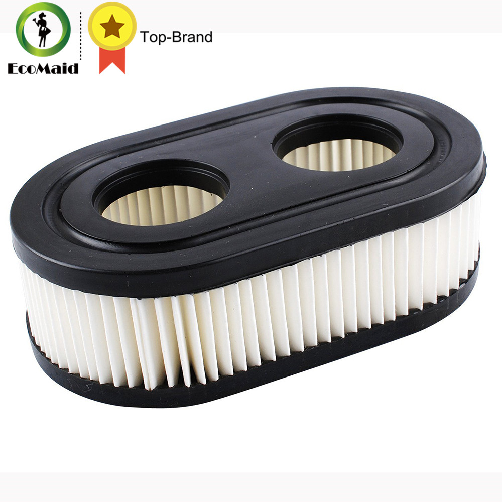 Air filter for Briggs & Stratton 798452 Air Cleaner Cartridge Filter Replace Lawn Mover Accessiries 1 PACK air filter cleaner pre filter for briggs stratton 792105 john deere miu11515 gy21057 replacement lawn mower parts 5 packs