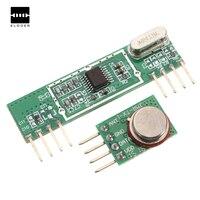 Excellent Quality 433Mhz Superheterodyne 3400 RF Transmitter Receiver Link Kit For Arduino ARM MCU
