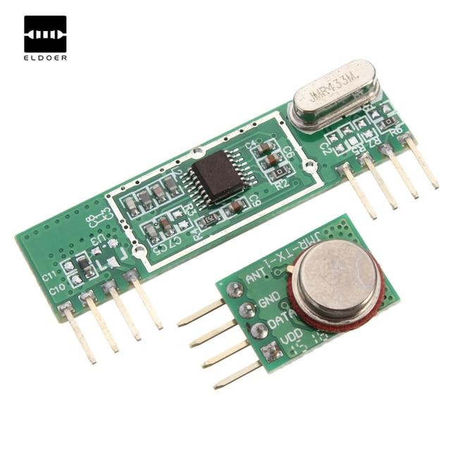 Excellent Quality 433Mhz Superheterodyne 3400 RF Transmitter&Receiver Link Kit For Arduino ARM MCU