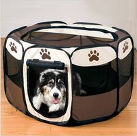Dog Supplies Pet Bed Kennel Dog House USA Pet Tent Pens Folding Cage Oxford Fabric Steel