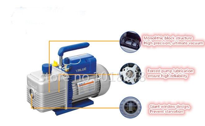 220V FY-2C-N Air Vacuum Pump Laminating Machine Diaphragm Pump,Refrigeration repair, mold injection molding evacuated Pump aro ingersoll rand pneumatic diaphragm pump 1 1 2 metal pump housing 666170 3eb c