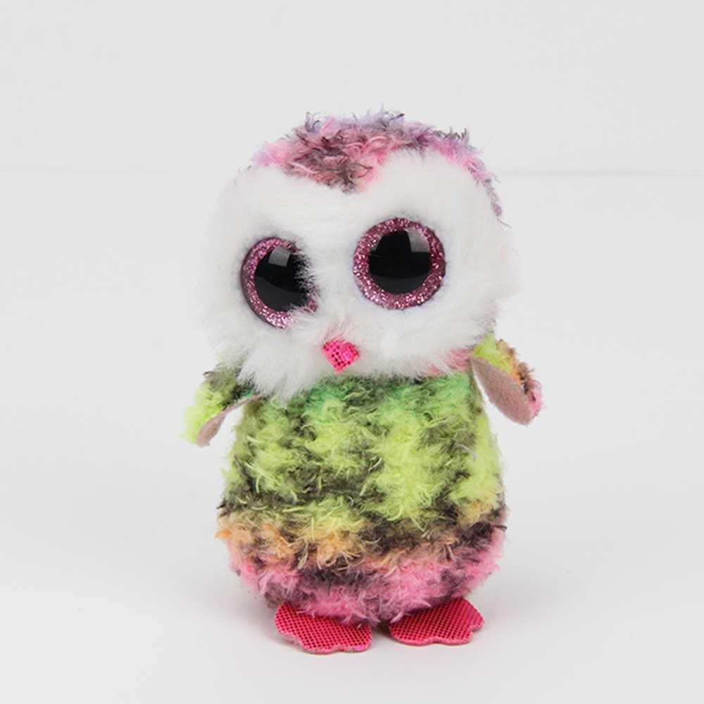 2017 Ty Beanie Boos Plush Toys Beanie Babies Big Eyes birthday Owl ...