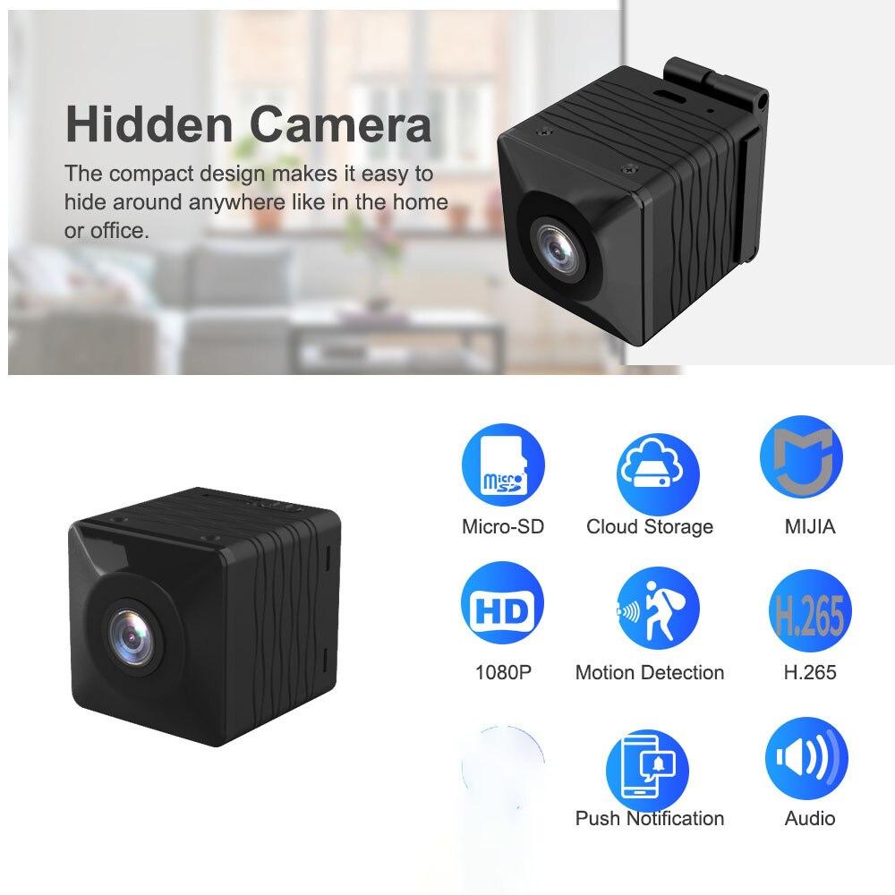 Mini caméra WIFI | full HD 1080P, Vision nocturne, batterie 1000mah, enregistreur H.265, caméscope, micro moniteur de sécurité V380
