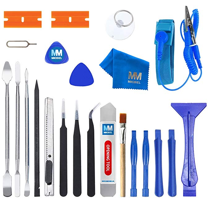 Wrist-Strap Opening-Tool-Kit-Set Smartphones Premium-Repair Anti-Static Professional