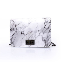 Ladies Marble Crossbody Hand Bags Women Chain Mini Shoulder Bag Fashion Women PU Leather Bags For Women Female Small Square Bag цены