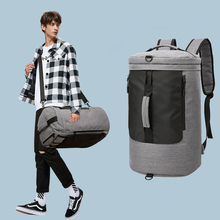 35L Gym Bag Multifunction Men Sports Bags Woman Fitness Laptop Backpacks Hand Travel Storage With Shoes Pocket Traning