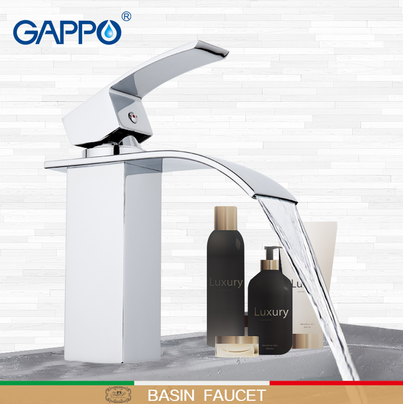 GAPPO basin faucet waterfall faucet water mixer tap sink Faucet bathroom mixer brass faucet bathroom taps
