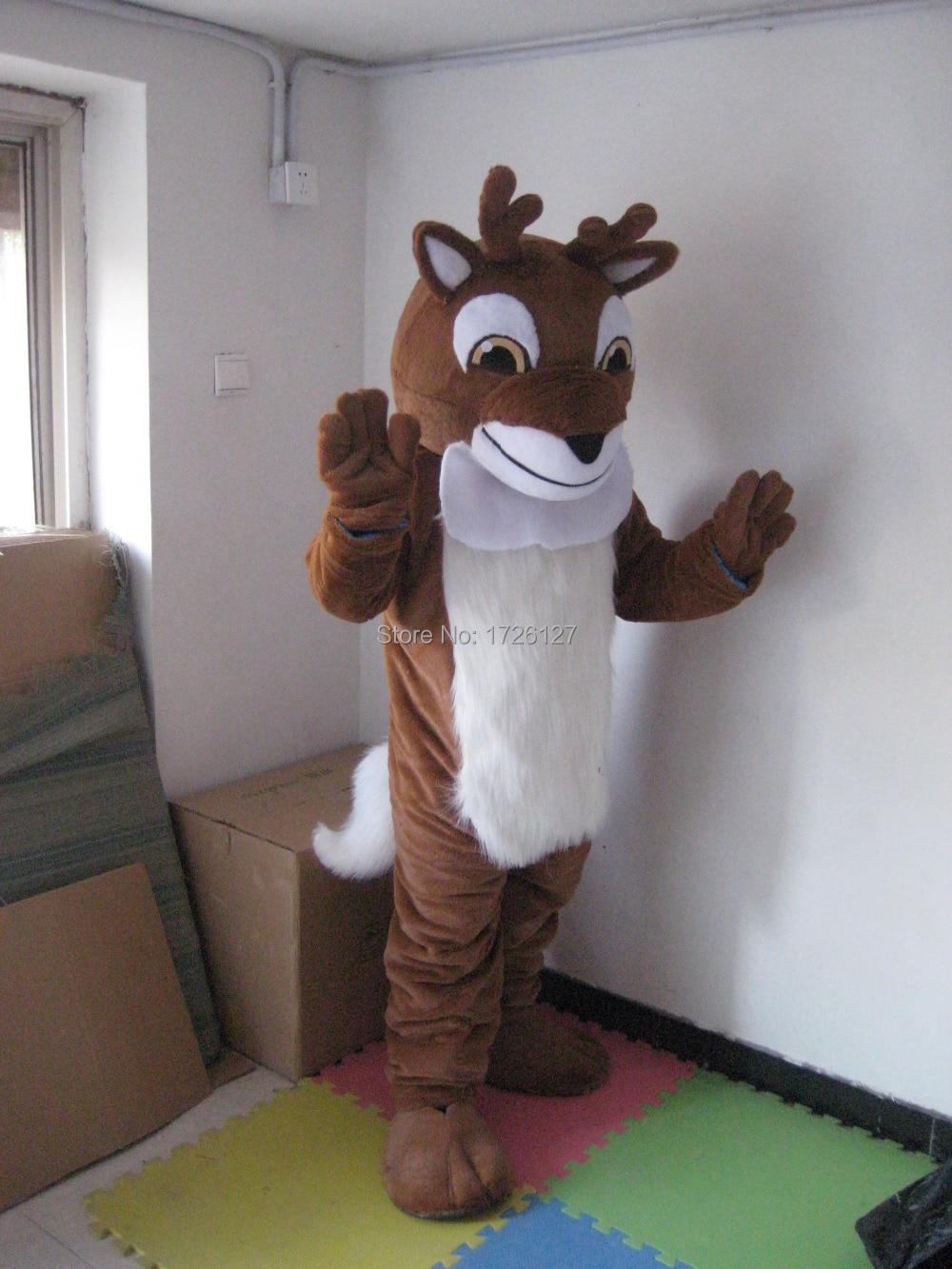 mascot Reindeer Moose Deer Mascot costume custom fancy costume anime cosplay kits mascotte fancy dress carnival costume