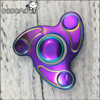 2017 High Speed Adult Children Handspinner Fidget Hand Spinner Brass Finger Fidget Toy Metal Bearing Anti