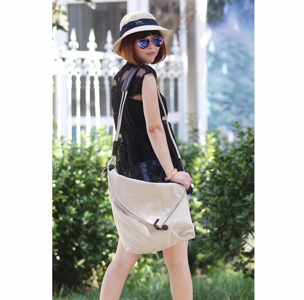 Vintage Canvas Shoulder Bag European And American Style Casual Unisex Handbag Men Women Retro Large Capacity Messenger Bags TTOU (1)