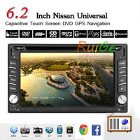 New 6.2'' 2 DIN Car DVD Player Radio/BT/Stereo/Audio GPS Navigation Car PC Stereo LCD Win 8 Free GPS Antenna+ Map+Review Camera